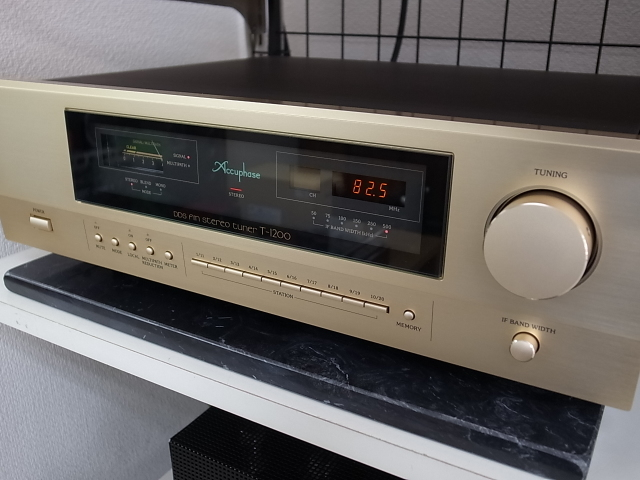 Accuphase アキュフェーズ T-1200 最高峰FMステレオチューナー